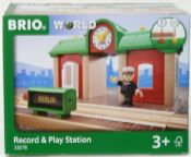 BRIO 33578 Record & Play Station